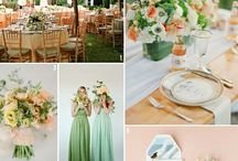 Wedding - Color inspiration, mood board / by Emerald Scarf