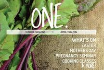 ONE magazine / View our new bi-monthly lifestyle and health magazine. Each issue has a theme, e.g. Home Grown, Less=More.  Find interesting articles, lots of tips, recipes, an event calendar, great prizes to be won and much more. #Kunara #KunaraOrganicMarketplace #Magazine #Health #Nutrition #Wellbeing #Events #Prizes / by Kunara Organic Marketplace