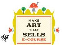 Make Art that Sells MATS / by De Schildertuin