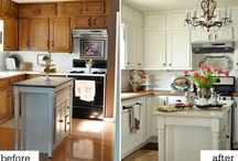 kitchen redo / by The Farmer's Trophy Wife