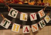 Fall/Thanksgiving / by Robin Bowen Brackett