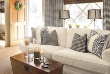 Ideas for my new living room / by Robin Bowen Brackett