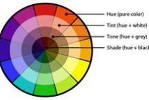 Colour theory / by Dominika Zaborowska