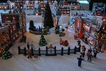 Christmas Village Displays / by Donna Davis