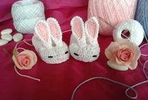 scarpine  cappelli e vestitini per bimbi / by Borse filati crochet