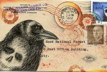 Art -Mail Art / Decorated envelopes.   / by Bill McNeely