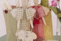 Cloth Dolls Handmade / by Melissa Quinn