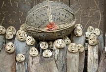 Art - Figures in Wood / by Margaret Walters