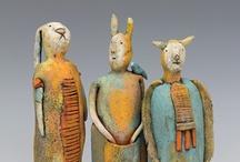 Art - Figures - Ceramic / by Margaret Walters