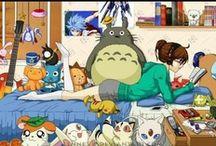 anime and manga / by Emily Neeser