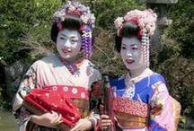 Geisha / Japanese Beauty / by Monicia Mirvis