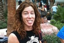 Shaun White / I love him he is gorgeous and amazing and talented. XOXOXOXOXOXO  / by Lili Huard