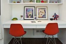 Study Areas for Your Student  / Help your student dive into his/her homework with a creative, imagination-inspiring work area!  / by National PTA