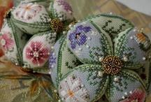 Pretty Pin Cushions / by Cheryl Norfolk
