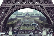 Eiffel tower pics / by Barb Knappen