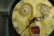 odd clocks / by Barb Knappen