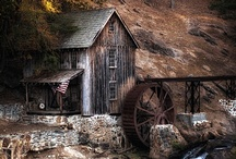 mills & bridges / by Barb Knappen