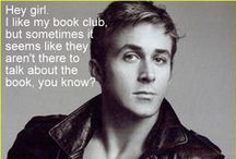 Ryan Gosling's Library Images / by Merced College Library