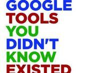 Google/Social Media / Social Media Tools and Google Info / by Merced College Library
