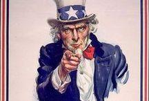 WWI:  Recruiting & Propaganda Posters / by Danny L.