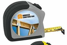Perfect for the Construction Industry / Contractors, architects, hvac and plumbing companies - the list is endless.  Let us help you find just the right item for this practical market. / by BIC Graphic