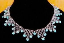 Beaded Necklace *FREE* Patterns / by Joanne Gibbings