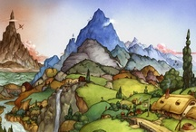 *The Art of The Hobbit* / by Joanne Gibbings
