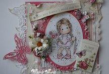 Only Magnolia's stamps / Me encantan los sellos de la marca Magnolia, por ello decidí abrir este álbum especial para coleccionar tarjetas y otros proyectos de todo el mundo... / by Scrap De Fanny DG