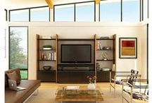 BDI Home Theater Furniture / All of BDI's latest home theater furniture. http://www.bdiusa.com/theater/index.shtml / by BDI Furniture