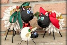 Christmastown / Time to start collecting Christmas craft and design ideas again! / by Vickie Brown