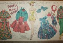 Newspaper Paper Dolls / paper dolls from newspapers and comic strips / by Jane Alfano Rasor