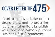 Cover Letter Tips  / by E-town College Career Services