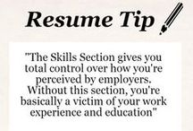 Resume Tips  / by E-town College Career Services