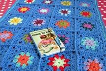 mycrochet BLUE grannies/afghans / by Joy Ryan