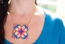 DIY Jewelry / You're already beautiful, but learning how to make your own jewelry is the icing on the cake. Check out these simple tutorials and How To's to add sparkle and flair to your wardrobe. / by Creativebug