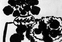   P   ART BLACK + WHITE / by Patricia Gray   Interior Design Vancouver