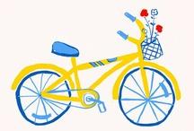 Vintage Bikes / by Julie Campbell