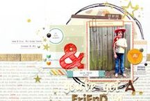 Memory Keeping / Scrapbooking layouts that inspire me. / by Julie Campbell