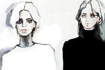 illustration / by Rebecca Kerr
