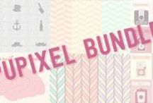 Pupixel Bundle / This bundle includes all the best vector design created in 2014 by Pupixel Studio.  All resources can be purchased individually in marketplaces Fotolia and Graphic River.  The total worth of Pupixel Bundle is 200€ ++, but you can purchase it for only 6€ until monday 6 oct on Pupixel Blog: http://pupixel.com/pupixel-bundle/  Go on, don't miss it! / by Pupixel Studio