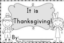Thanksgiving - Homeschool / by Christy Johnson