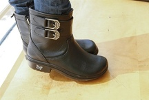 Alegria Avril / The side zipper and two adjustable buckles make this boot easy to slip into. / by Alegria Shoe Shop