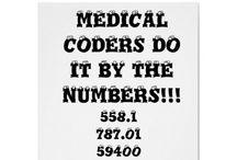 Medical Coding / by Juliet Bridges