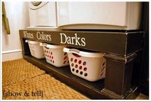 Laundry room / by Megan DeRosso