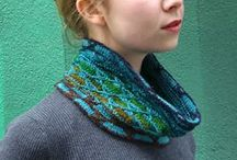 Cowls / Inspiration for Cowl Design Class with Craftsy / by Laura Nelkin