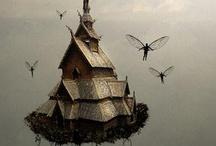 fairy/ pixie / magic world / by Ivanka Yastrebov