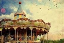 circus fair carousel. / by Ivanka Yastrebov