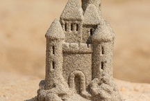 DISNEY Sand Art & Others / Always took my sand pail to the beach to make castles  / by Beverly Nuermberger