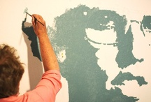 wallpainting / murals / by Ivanka Yastrebov