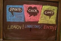 Sports Chick Chat / My project to hep women (or men) learn more about football!!! Find us on Twitter @SportsChickChat Facebook: https://www.facebook.com/SportsChickChat  / by Linda Rey